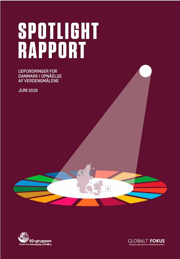 Rapportens forside: Spotlight Rapport